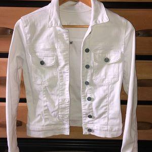 KUT white Jean jacket